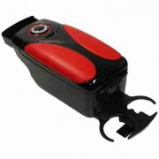 Подлокотник Vitol HJ48004B черный + красный + черный