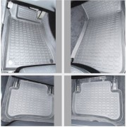 Коврики в салон Stardiamond для Mercedes - Benz W203, год выпуска 2000-2007 серые
