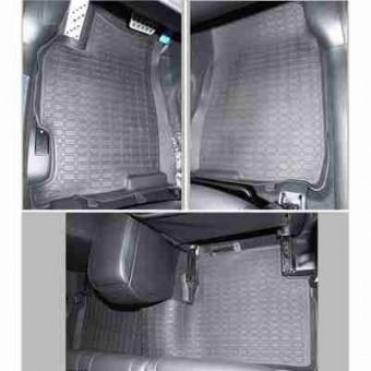 Коврики в салон Stardiamond для Mazda 6, год выпуска 2007-… серые