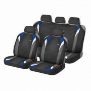 Комплект автомаек Hadar&Rosen FORMULA 22120 черный / голубой