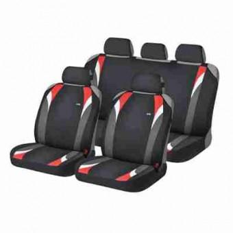 Комплект автомаек Hadar&Rosen FORMULA 22119 черный / красный