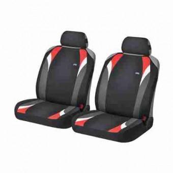 Комплект автомаек Hadar&Rosen FORMULA 21148 черный / красный