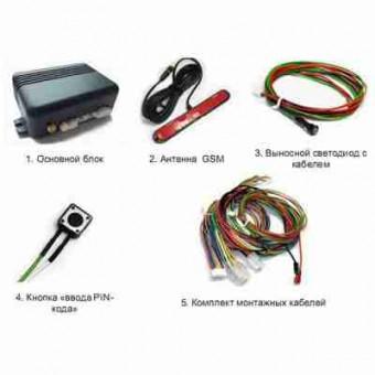 GSM сигнализация Spider GSM S301RF + RFID - считыватель