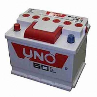 Аккумулятор автомобильный Uno 6CT - 60 (0)