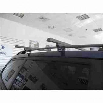 Автобагажник Десна Авто на Cherry Kimo, год выпуска 2008-..., для авто с рейлингами