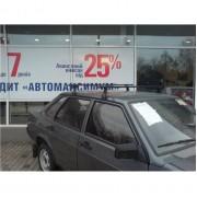 Автобагажник Десна Авто на ЗАЗ Таврия, год выпуска 1988-2007, для авто с водостоком