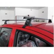 Автобагажник Десна Авто на ЗАЗ Forza, год выпуска 2011-..., для автомобиля с гладкой крышей