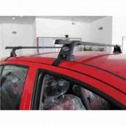 Автобагажник Десна Авто на RENAULT Clio Hatchback, год выпуска 2002-2005, для автомобиля с гладкой крышей