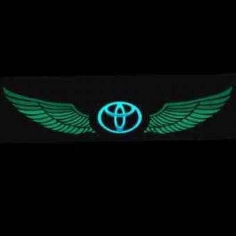 Графический эквалайзер на стекло RS EL - ToyotaWings Green